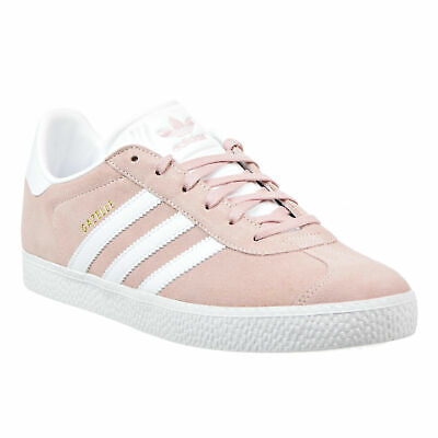 NEW Adidas Gazelle J Big Kids Shoes Ice-Pink-Gold-White by9544 SIZE 7   eBay