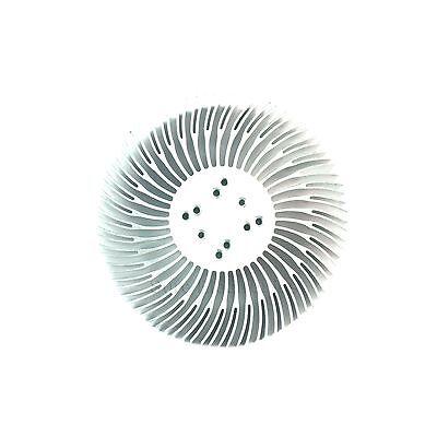 Φ90x25mm Round mountable Aluminum Heat Sink Cooling for 10W LED Heatsink