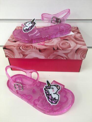 New Season Free Gift New Lelli Kelly LK 9922 Unicorn Jelly Sandals In Pink