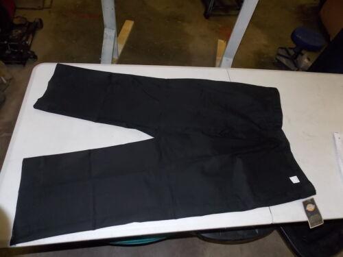NOS Vintage Dickies Work Wear Uniform Blue Collar Black Pants