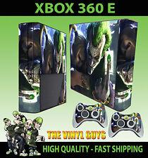 XBOX 360 E Joker, HARLEY Crazy Love GOTHAM ADESIVO SKIN e 2 pad Pelle
