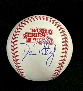 Dan Petry Signed Detroit Tigers 1984 World Series Official Game Baseball