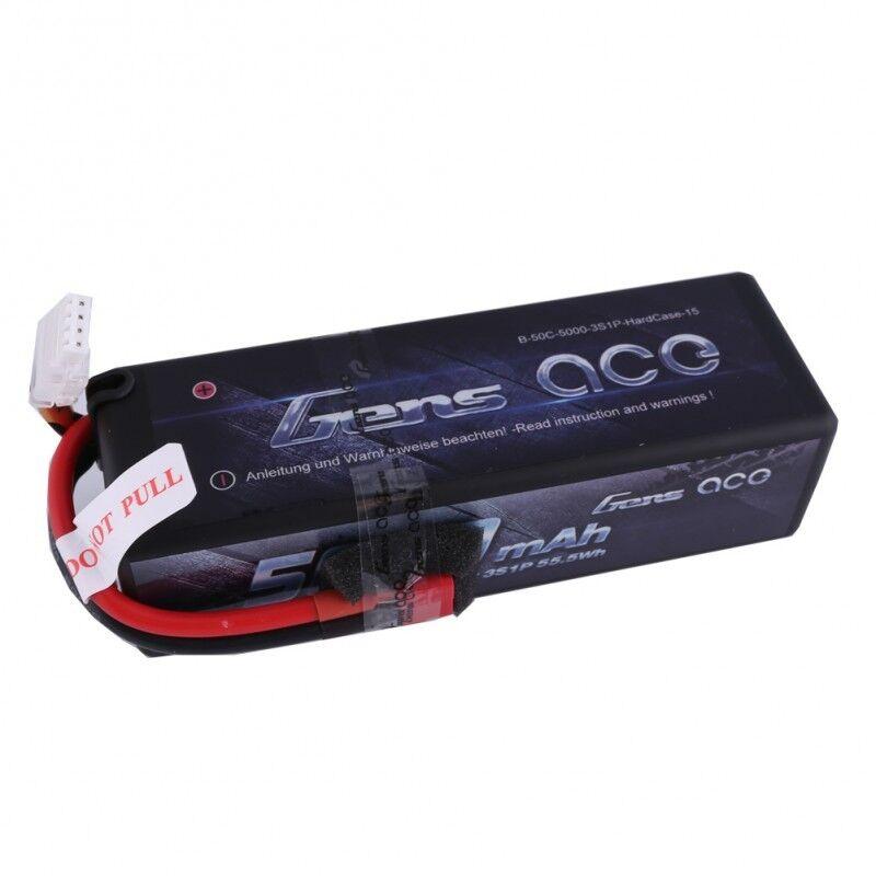 Gens Ace 5000mAh 11.1V 50C 100C 3S CELLA LiPo Batteria Deans Spina Per RC Auto