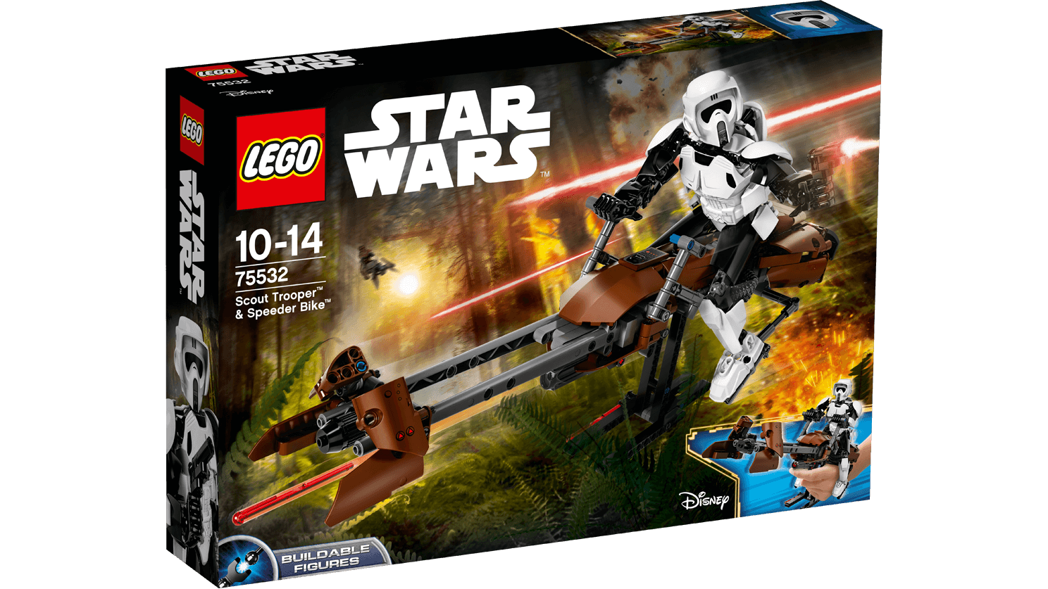LEGO 75532 - Constraction Scout Trooper - NUEVO