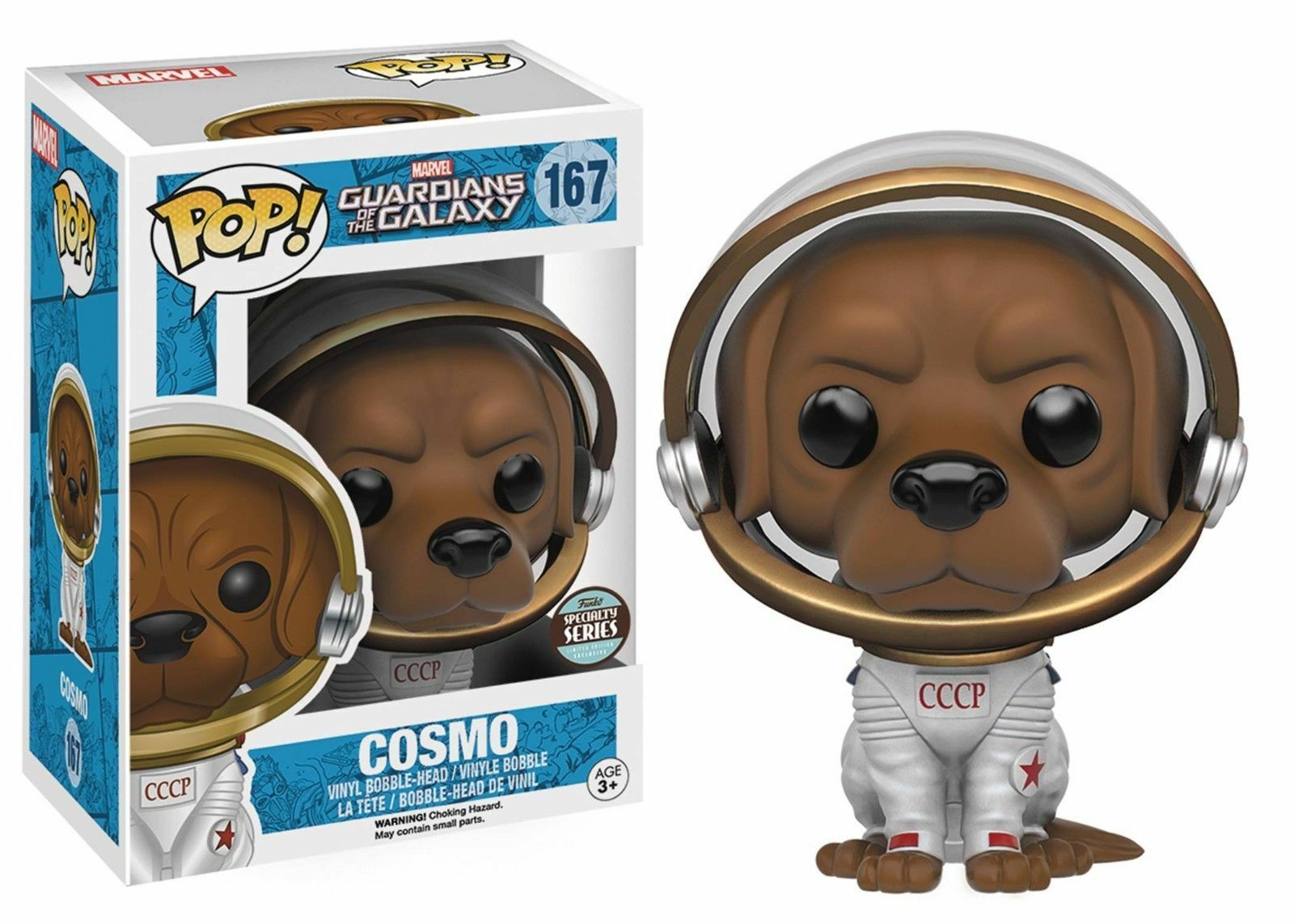 FUNKO POP MARVEL GUARDIANS OF THE GALAXY  167 COSMOSPECIALTY SERIES VINYL