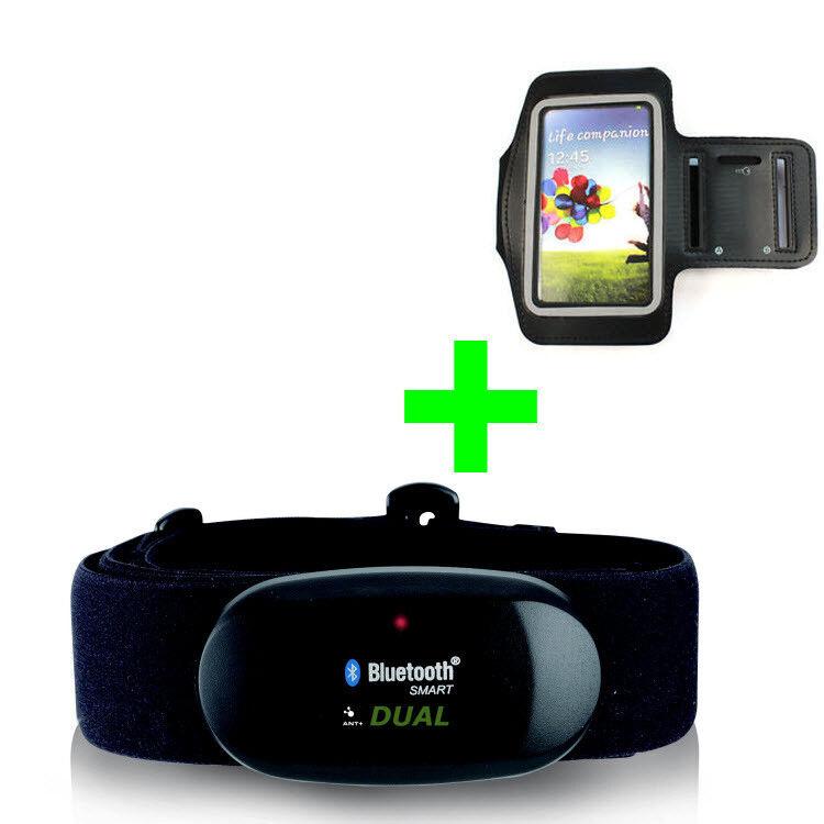 azultooth azultooth azultooth 4.0 y ANT + correa para el pecho para Wahoo app + pulsera Samsung s5, s6, s7, s8, s9 0a4fc6