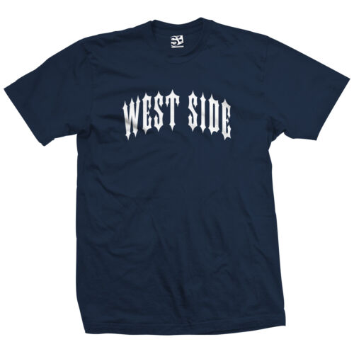 Westside Left Coast California Tee All Size /& Colors West Side Outlaw T-Shirt