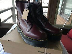 0189b3bdc20e Dr. Martens New Cherry Red Men s U.S. 14 Jadon Boots Doc