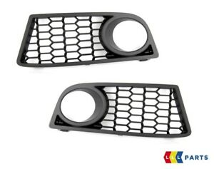 BMW-NEW-GENUINE-F20-F21-FRONT-M-SPORT-BUMPER-FOG-LIGHT-GRILL-SET-LEFT-RIGHT