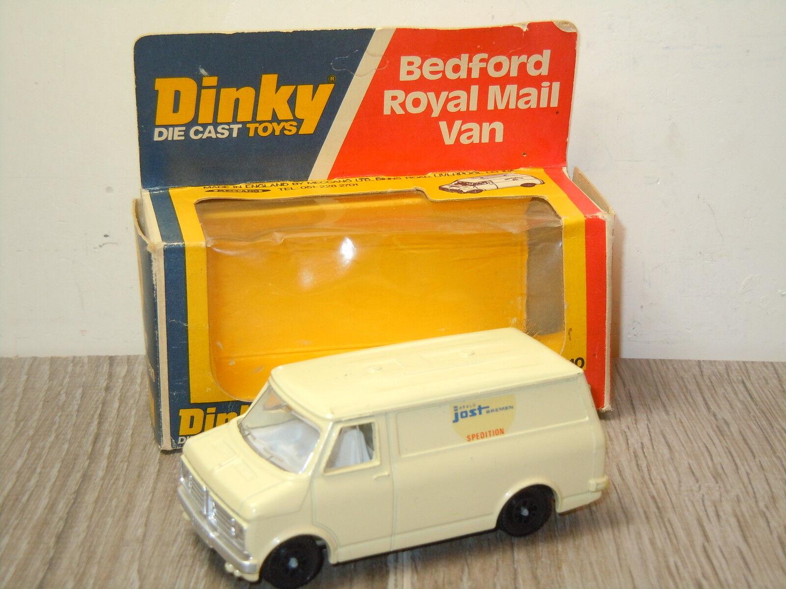 Bedford Harald Jost Bremen Van Dinky Toys CODE 2 John Gay In Box  15911