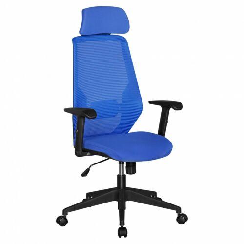 Bürostuhl Stoff /& Netz Rücken Schreibtischstuhl Drehstuhl Büro Sessel Kopfstütze