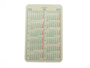 Calendario 1976.Dettagli Su Calendario Rolex 1976 1977 Originale Rolex Calendar Genuine