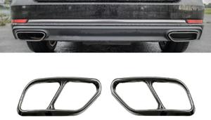 Chrome-Auspuffblende-Auspuff-Abdeckung-fuer-Audi-A4-Avant-8W5-B9-Kombi-AB-7