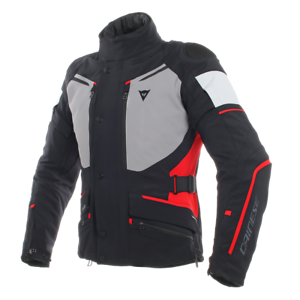DAINESE-CARVE-MASTER-2-BLACK-GREY-RED-MOTORCYCLE-JACKET-EU-50-52-54-56-58