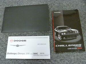 2010 dodge challenger coupe owner owner s manual user guide book se rh ebay com 2014 Dodge Challenger RT White 2010 Dodge Challenger RT Black