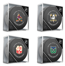 NHL Teams Unsigned InGlasCo 2019 Model Official Game Puck