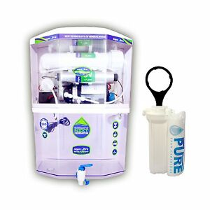 Aqua Ultra A400 14Stage Ro+UV+UF+Mi+Tds water purifier With Free 3Spun filter