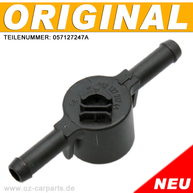 1 ORIGINAL Ventil Kraftstofffilter 057127247A für AUDI A6 S6 A8 4B C5 VW Passat