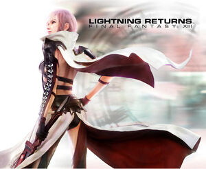 Final Fantasy XIII 13 Lightning returns mouse pad 1 fre
