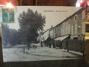CPA-42-Montbrison-Boulevard-Carnot