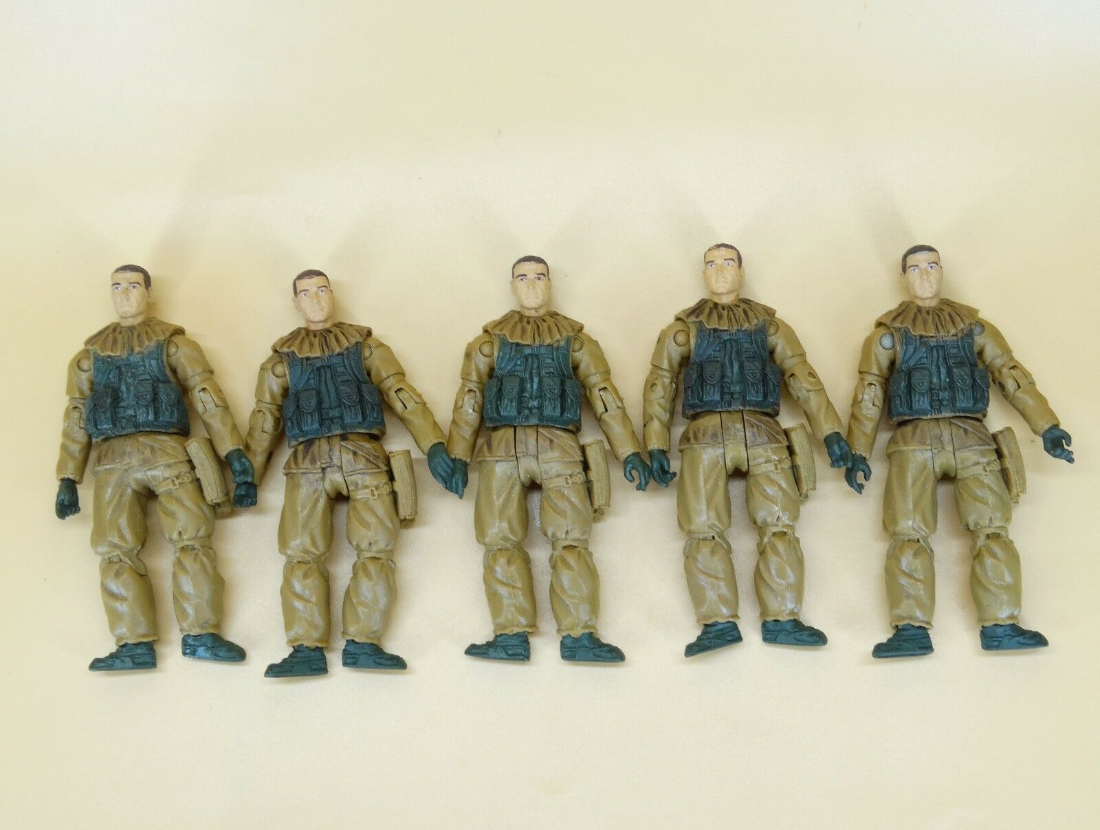 Lot 5 BBI Elite Force Navy SEAL Special Forces Forces Forces Ops Delta Soldiers figure 4   18 d10906