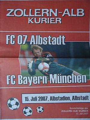 Programme 17.1.1996 FC celle-Bayern Munich