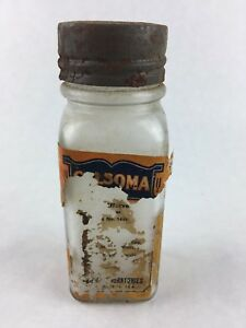 Vintage Pharmacy Calsoma Laboratories Medicine Bottle