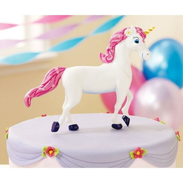 UNICORN PARTY BIRTHDAY CAKE TOPPER DECORATION FIGURE FIGURINE ORNAMENT