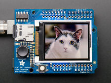 Adafruit 1.8 Color TFT LCD Display Screen Arduino Shield w/microSD and Joystick