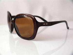 ladies oakley sunglasses  OAKLEY BACKHAND LADIES SUNGLASSES CHOCOLATE SIN FRAME BRONZE ...
