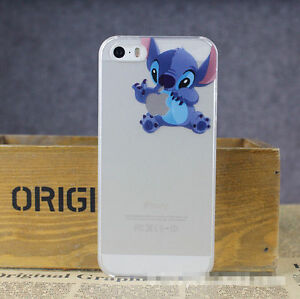stitch phone case iphone 5s stitch holding apple iphone 5 5s clear cover 7987