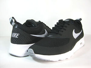 outlet store d6386 791aa Image is loading NIKE-WMNS-AIR-MAX-THEA-Black-Wolf-Grey-