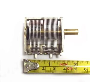 ALPS Air Variable Capacitor 25 - 450pf for Crystal Radio Antenna Tuner Ham Radio
