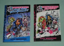 BOOKS Monster High Ghoulfriends SC LOT OF 2 (Books 1 & 3)