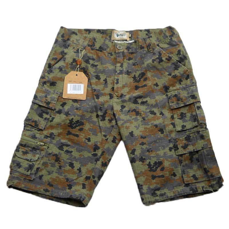 Pantaloni Corti Bermuda Pantaloncini Short Uomo Estivi Cotone Mare Spiaggia Slim