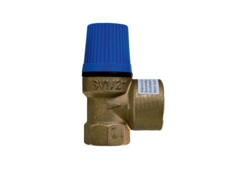 """Sicherheitsventil 1//2/"""" 2,5 3 4 6 8 10 bar Überdruckventil Boiler Wasser Solar"""