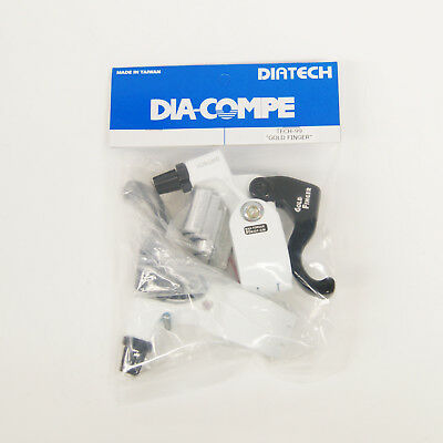 Pair for Flat Bar Gold DIA-COMPE DC135 Brake Lever Left /& Right