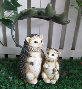 Gardenwize-Solar-LED-Light-Garden-Yard-Baby-Hedgehog-Under-Leaf-Ornament-Statue