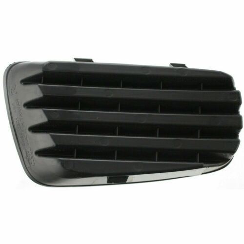 Plastic Passenger Side Fog Light Cover Black For Saturn Vue 06-07
