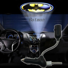 New Car LED Cigarette Lighter Roof Projector Batman Logo Shadow Atmosphere Light