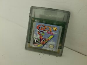 GEX 3 DEEP POCKET GECKO game  Gameboy Color Cartridge Only Cleaned & Tested B9