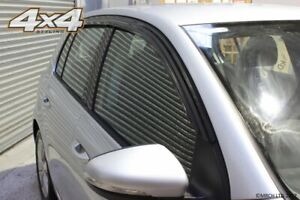 For-Volkswagen-Golf-MK5-MK6-Hatchback-Wind-Deflectors-Set-5-door-4-pieces