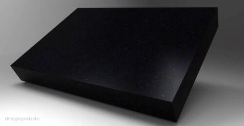 Liegestein Granit 60x50x12cm Grabstein Grabplatte Gedenkstein Grabmal Urnenstein