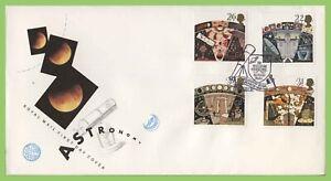 Graham-Brown-1990-atronomy-conjunto-en-u-un-primer-dia-cubierta-de-Royal-Mail-William-Herschel