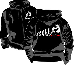 Sport 16 Evolution Abbigliamento Boxing Jacket Hodies Boxe Boxing School Jacket Hooded qtnUvppfCw