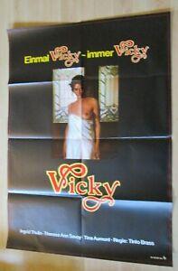 Filmplakat : Vicky ( Ingrid Thulin, Therese Ann Savoy, Tinto Brass ) - Braunschweig, Deutschland - Filmplakat : Vicky ( Ingrid Thulin, Therese Ann Savoy, Tinto Brass ) - Braunschweig, Deutschland