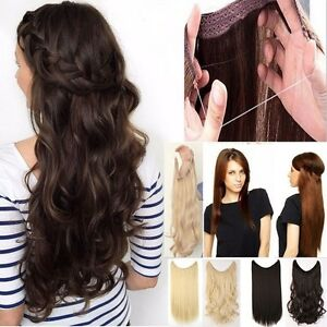us premium secret wire in hair extensions invisible as