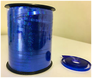 Blue Ballon 5 mm Curling Ruban Holographique 30-100 M Longueur ballons