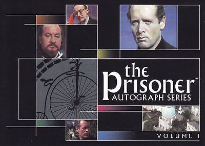 THE PRISONER  VOLUME 1 GUARDIANS OF THE VILLAGE  CARDS PF1 TO PF6