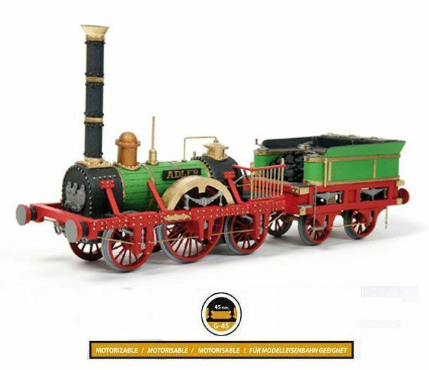Occre Adler Locomotive 1 24 scale 54001 - Ideal Beginners Model Kit
